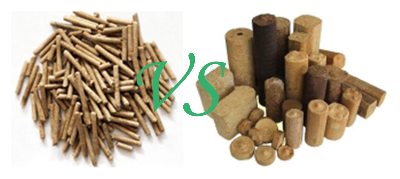 pellets and briquettes
