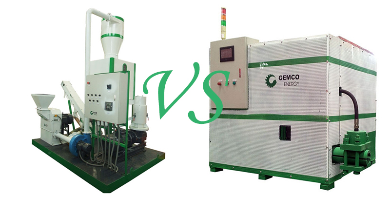 pellets machine and briquettes machine