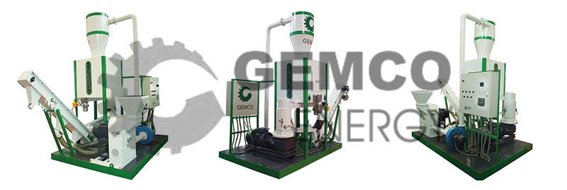 small mobile pelletizing machine
